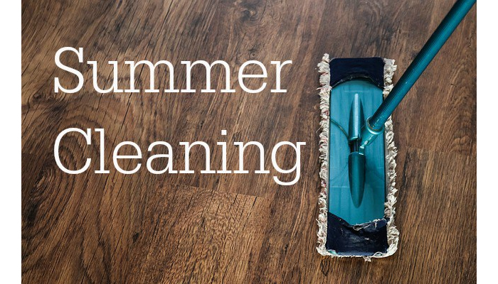 5 cleaning tips to get your house ready for the summer!